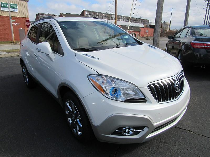 2016 buick encore for sale erie pa cylinder white pearl tri. Black Bedroom Furniture Sets. Home Design Ideas