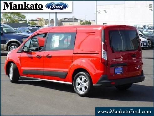 2014 ford transit connect cargo lwb xlt for sale mankato mn 1 6l 4 cyl cylinder race red. Black Bedroom Furniture Sets. Home Design Ideas