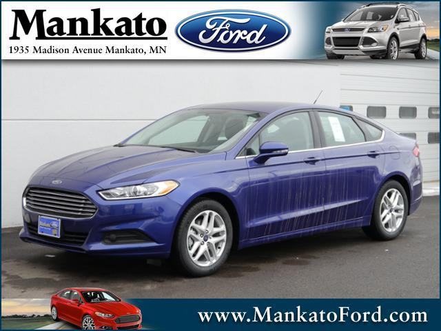 2016 ford fusion 4dr sdn se fwd for sale mankato mn 2 5l 4 cyl cylinder deep impact blue. Black Bedroom Furniture Sets. Home Design Ideas