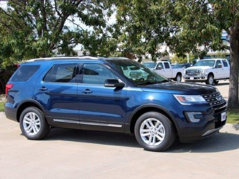 2017 ford explorer xlt for sale weatherford tx 3 5 l 6 cylinder blue. Cars Review. Best American Auto & Cars Review