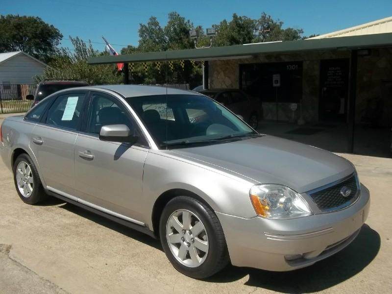 2006 ford five hundred for sale cleburne tx 6 cylinder. Black Bedroom Furniture Sets. Home Design Ideas