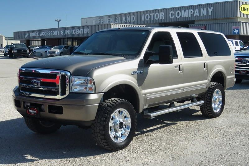 2005 ford excursion 6 0l limited 4wd for sale cleburne tx. Black Bedroom Furniture Sets. Home Design Ideas